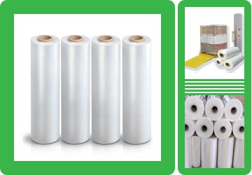 Stretch Film Pallet Wrap